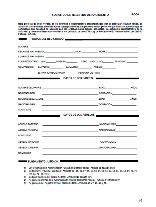 Qué papeles necesito para registrar a mi bebé en el registro civil ...